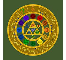 Wheel of the Hero of Time Photographic Print
