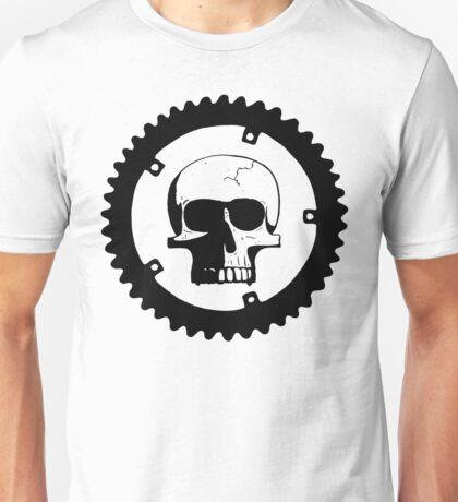 Sprocket Skull Unisex T-Shirt