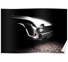 Triumph TR4  Poster