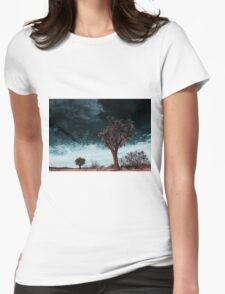 Joshua Tree Womens Fitted T-Shirt