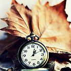 Autumn Leaf And Watch by Evita