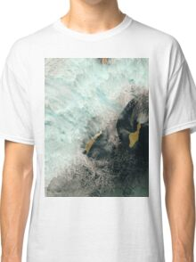 Satellite Image Catalina and San Clemente Islands California Classic T-Shirt