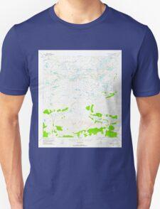 USGS TOPO Map Alaska AK Gulkana D-5 355834 1951 63360 Unisex T-Shirt