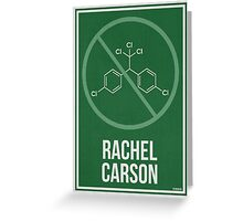 RACHEL CARSON - Women in Science Wall Art Greeting Card