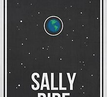 SALLY RIDE- Women in Science Wall Art by Hydrogene