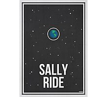 SALLY RIDE- Women in Science Collection Photographic Print