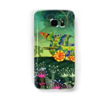 Green Car Samsung Galaxy Case/Skin