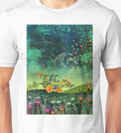 Green Car Unisex T-Shirt