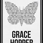 GRACE HOPPER - Women Scientist Posters by Hydrogene