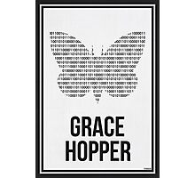 GRACE HOPPER - Women in Science Collection Photographic Print