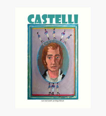 Juan José Castelli por Diego Manuel Art Print