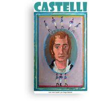 Juan José Castelli por Diego Manuel Canvas Print