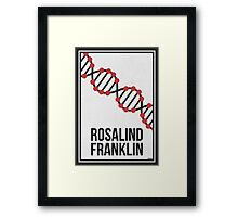ROSALIND FRANKLIN - Women in Science Wall Art Framed Print