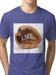 Life In A Nutshell #2 Tri-blend T-Shirt