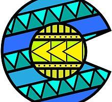 Colorado Tribal Flag: Blues by missmarneyg