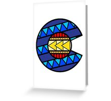 Colorado Tribal Flag: True Colour Greeting Card