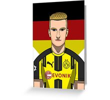 Marco Reus Greeting Card