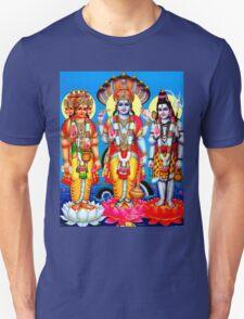 """""""BRAHMA GOD VISHNU GOD SHIVA"""" Print Unisex T-Shirt"""