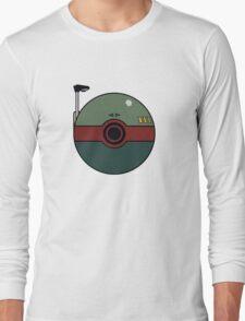 Boba Fett Pokemon Ball Mash-up Long Sleeve T-Shirt