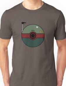 Boba Fett Pokemon Ball Mash-up Unisex T-Shirt