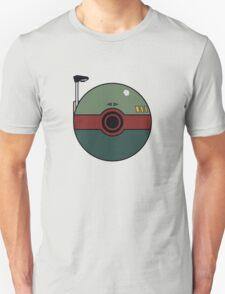 Boba Fett Pokemon Ball Mash-up Unisex T-Shirt
