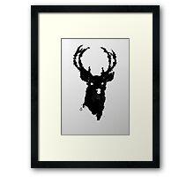 The Buck Framed Print
