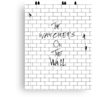 The Watchers On Pink Floyd's Wall Canvas Print