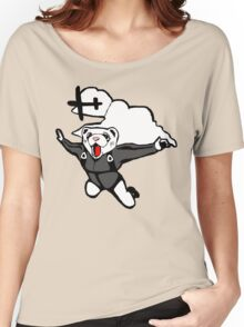 Skydiving Ferret (Original) Women's Relaxed Fit T-Shirt