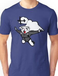 Skydiving Ferret (Original) Unisex T-Shirt