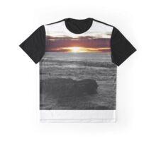 San Diego Sunset Graphic T-Shirt