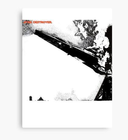 Led Zeppelin Star Destroyer Canvas Print