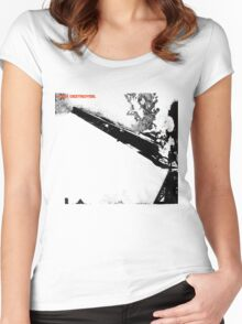 Led Zeppelin Star Destroyer Women's Fitted Scoop T-Shirt