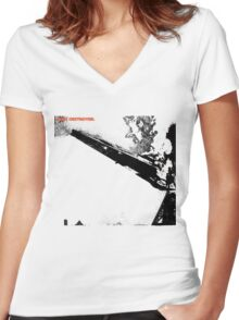 Led Zeppelin Star Destroyer Women's Fitted V-Neck T-Shirt