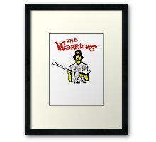 BASEBALL FURIES yellow Framed Print
