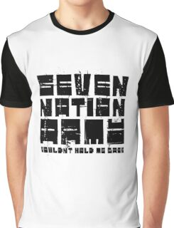Seven Nation Army The White Stripes Lyrics Graphic T-Shirt