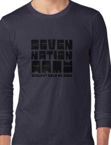 Seven Nation Army The White Stripes Lyrics Long Sleeve T-Shirt