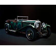 Bentley Open Tourer 1929 Painting Photographic Print