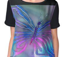 Mystic Moth Women's Chiffon Top