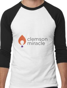 Clemson Miracle  Men's Baseball ¾ T-Shirt