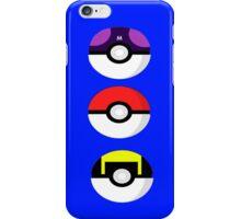 Pokemon balls iPhone Case/Skin