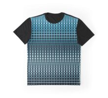 Oscillating Ocean Pattern Graphic T-Shirt