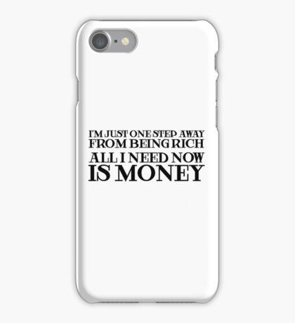 Money Humor Random Rich Ironic Cool iPhone Case/Skin