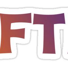 #FTK--Clemson University Sticker