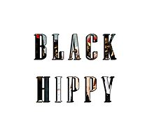 Black Hippy Photographic Print