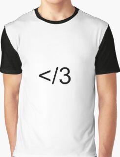 Broken Heart Graphic T-Shirt