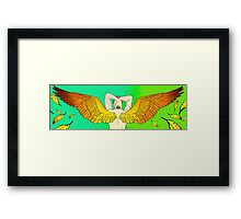 Winged Anakin Skywaler Framed Print