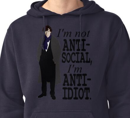 High Functioning Sociopath Pullover Hoodie