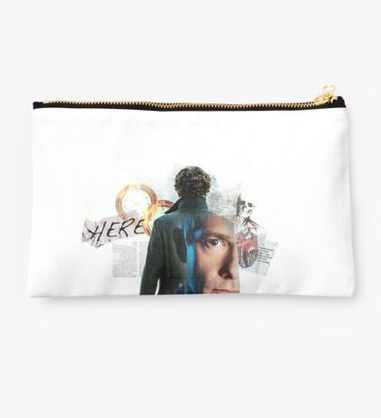 Sherlock and John Studio Pouch