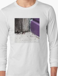 { Corners: where the walls meet #14 } Long Sleeve T-Shirt
