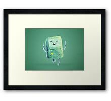 Beemo Polygonal | Adventure Time Framed Print
